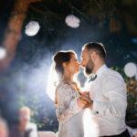 first dance - Elegant wedding by night