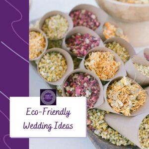 eco friendly wedding ideas
